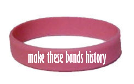 make wristbands history